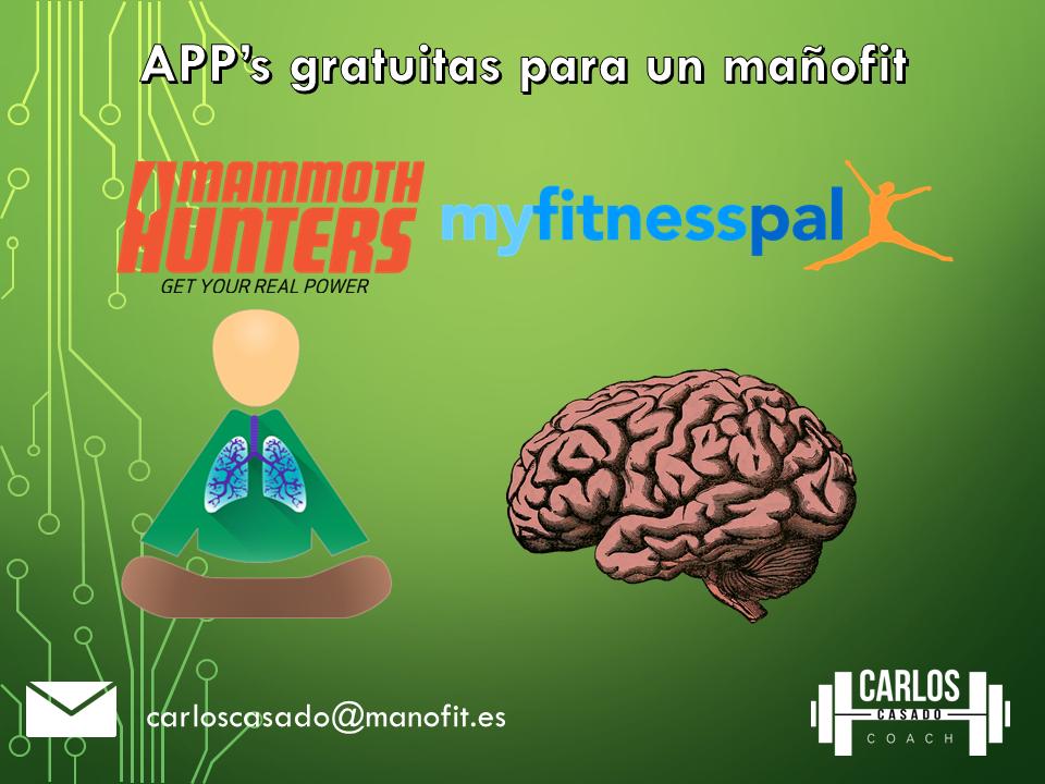 apps gratuitas para un mañofit saludable