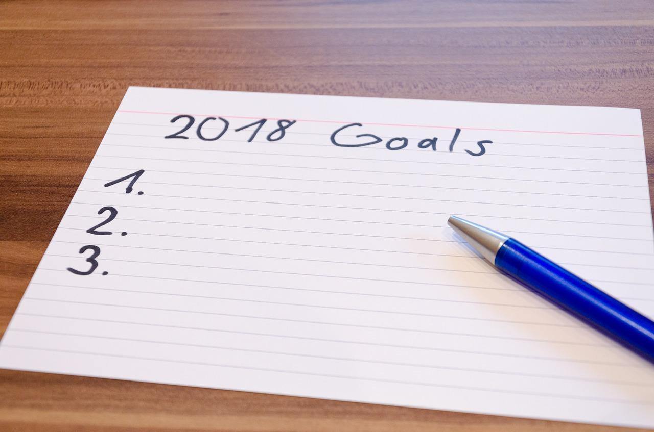 objetivos de año nuevo