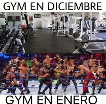 dejar el gimnasio