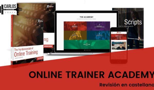 portada post online trainer academy review
