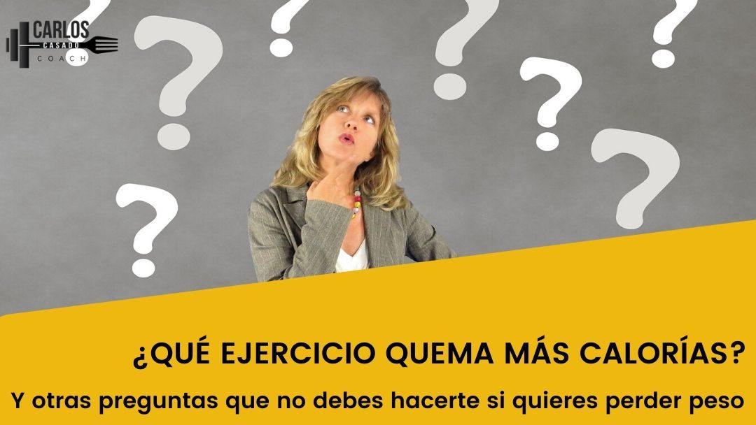 Preguntas que no debes hacerte si quieres perder peso